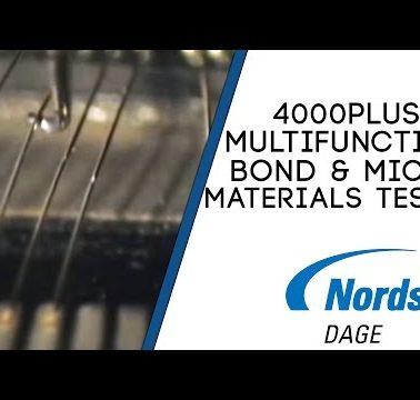 Nordson DAGE 4000PLUS Multifunction Bond & Micro Materials Tester