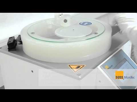 SUSS MicroTec LabSpin - Laboratory Coat and Develop Solution