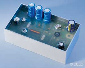 Potting of PCB's using epoxies for harsh environments.