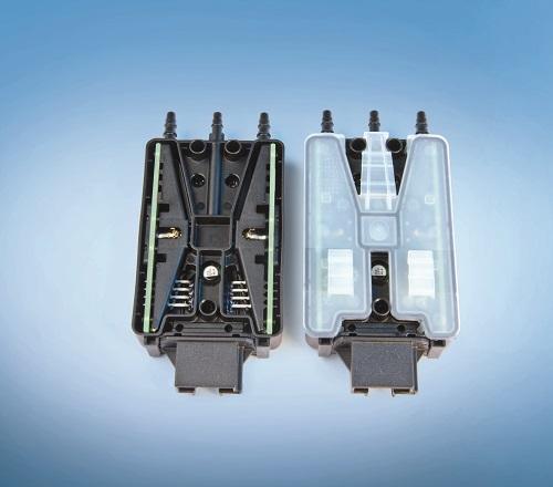 Light Activated Adhesive - DELO Katiobond Plastic Bonding Application