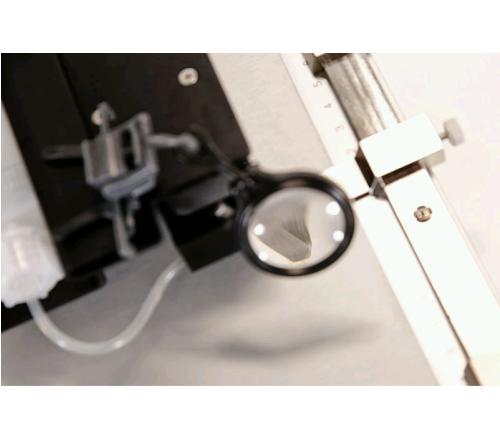 Diamond Scribe Tool Alignment Lens