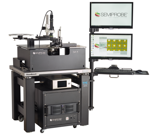 Semiautomatic LED Wafer Probe Station