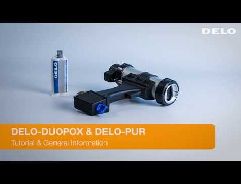 Pneumatic Dispensing Gun - Tutorial for Hightech Adhesives (DELO DUOPOX)