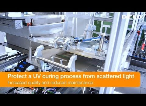 Protect UV Curing Process from Scattered Light