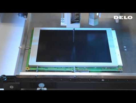 Display Bonding with DELO Adhesives and PVA Dispensing System