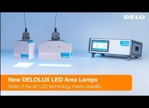 LED Flood Lamps for UV Curing: DELOLUX 20 / 202 With DELOLUX pilot