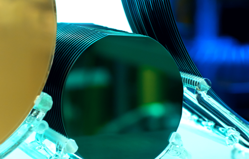 Oxide and Nitride Coated Semiconductor Wafers