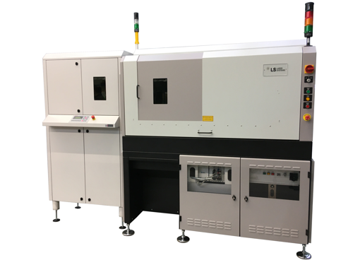 LS-9600TD Laser Trim Machine Automated Loading and Unloading