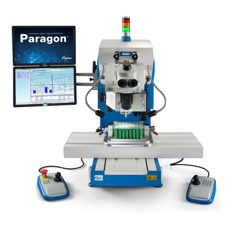 Dage 4600 Automated Bond Tester - Shear Testing Battery Packs