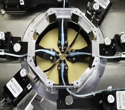 High Frequency Wafer Probe Test - Probe Arm Configuration