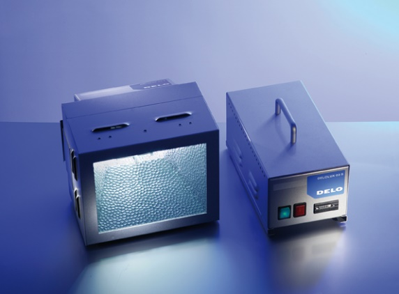 Mercury Flood Lamp for Curing UV Adhesives