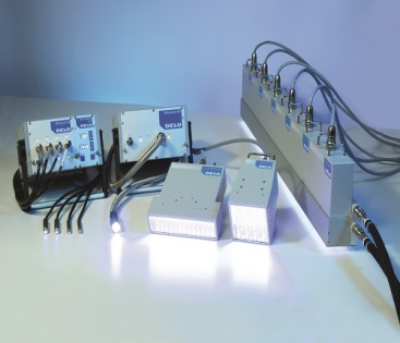 LED Lamps for Curing UV Adhesives.
