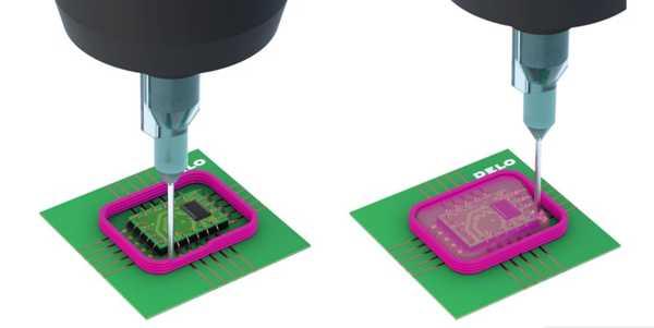 Dam and Fill Encapsulation Adhesives