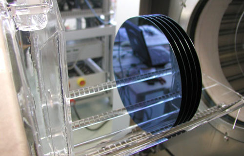 200 mm Horizontal oxidation furnace, courtesy of ATV GmbH